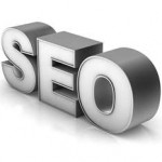 Search Engine Optimization text emblem